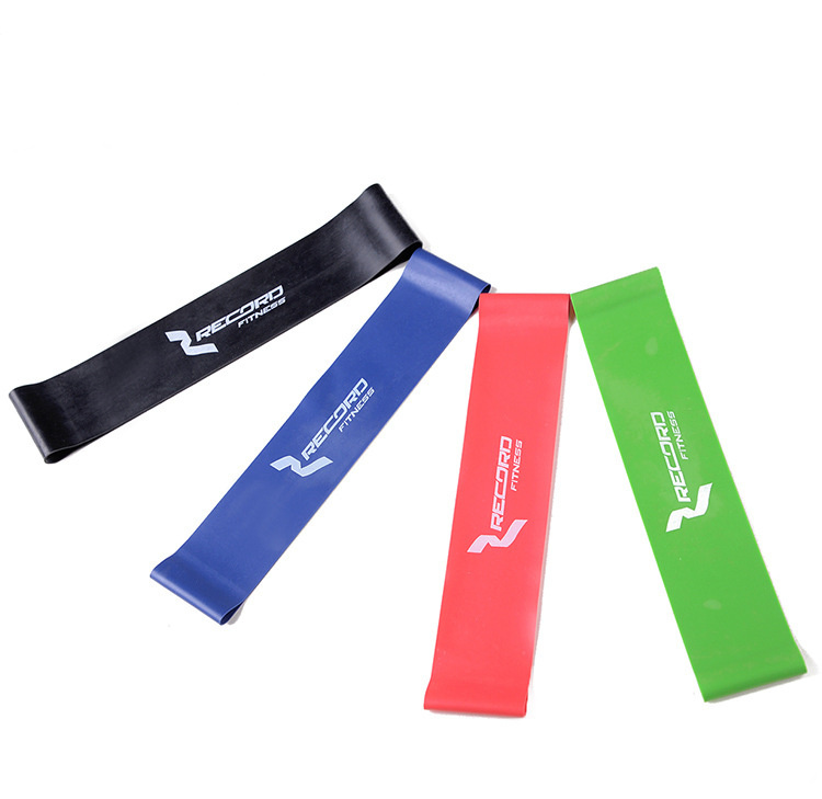 Latex Gym Strength Training With Resistance Band Rubber